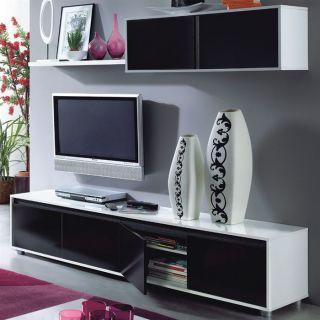 ALIDA   séjour tv 5 portes et 1 étagère   Achat / Vente MEUBLE TV