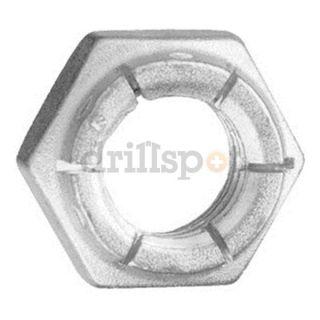 DrillSpot 70778 #6 32 18 8 Stainless Steel Flexible Lock Nut, Pack of 100