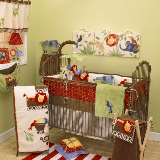 Cotton Tale Animal Tracks 4 piece Crib Bedding Set Today $134.99 4.8