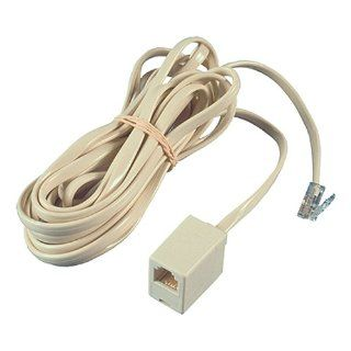 Allen Tel AT207 12 Flat Modular Extension Cord with 4 Conductors
