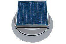 Solar Powered Attic Fan   20 Watt Roof Exhaust Vent
