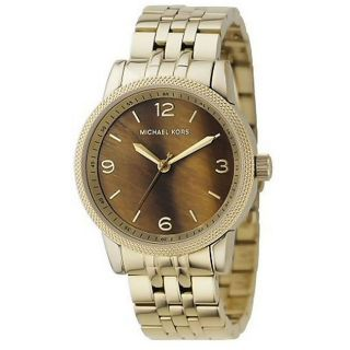 Michael Kors Womens Brown Dial Watch