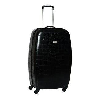 Ellen Tracy Venezia 27 inch Croco Embossed Hardside Spinner Upright