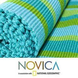 Handcrafted Cotton Guatemala Spring Table Runner (Guatemala