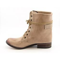 Mia Womens Ximena Beige/Natural Ankle Boots