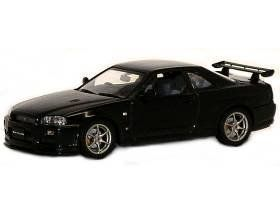 1999 Nissan Skyline GTR R34 V Spec II Diecast Car Model 1