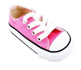 Converse Infant Lo top (3, Pink) Clothing