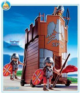 Playmobil 4275 Roman Battle Tower: Toys & Games