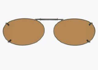 Cocoons Clip On Sunglasses Style Oval 2 48; Color Amber