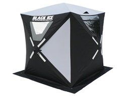 Black Ice Portable Pop Up Shelter