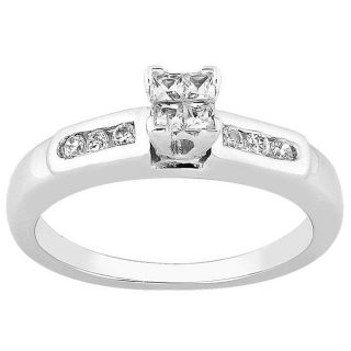 14k Gold 1/4ct TDW Diamond Engagement Ring (H I, I1)