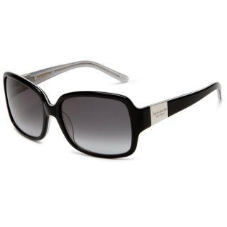 Kate Spade Womens Lulu JBH Black Plastic Sunglasses