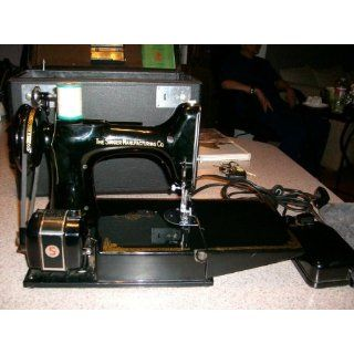 PORTABLE ELECTRIC SEWING MACHINE MODEL NO. 221 1