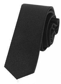 New Mens Solid Color Black Necktie Neck Tie Clothing