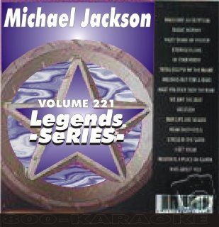 Michael Jackson Five 18 Song Karaoke CDG Legends #221 Legends Music