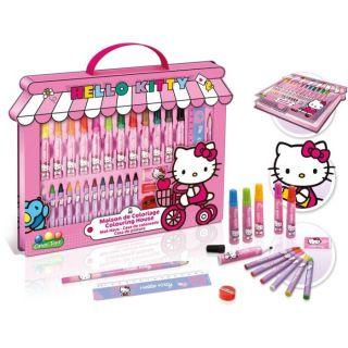 Maison de coloriage Hello Kitty   Achat / Vente PACK ART GRAPHIQUE