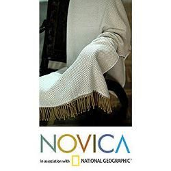 Alpaca Wool and Acrylic Andean Dawn Throw (Peru) Today $59.99