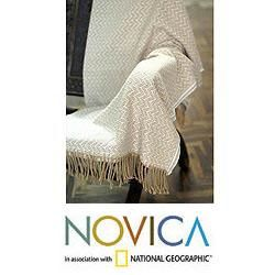 Acrylic and Alpaca Wool Sand Dunes Throw (Peru) Today $58.99 3.5 (2