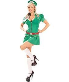 Sexy Scout Camp Counsler Halloween Costumes Large
