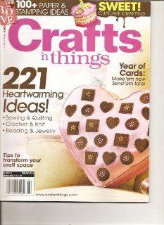 Crafts N Things Magazine (221 heartwarming ideas, February 2010