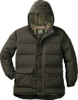 Mens Cabelas Woodsman Fleece Lined Down Parka R
