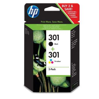 Combo Pack HP 301 (CR340EE)   Achat / Vente CARTOUCHE IMPRIMANTE Combo