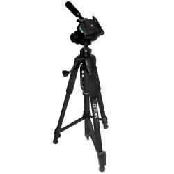 Zeikos 75 inch Professional Photo and Video Tripod