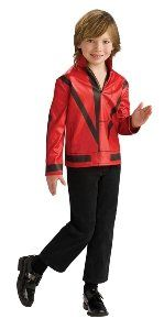 Michael Jackson Red Thriller Jacket Child Accessory Size