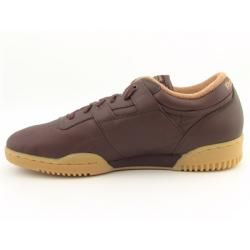 Reebok Mens Classic Low Brown Sneakers (Size 12)