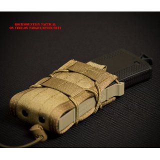 TACO Single RIFLE Magazine Pouch Fits Any 223   308 MAG COYOTE NEW