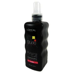 LOreal Studio Line Pumping Curls Spray, 8 Fl Oz.: Beauty