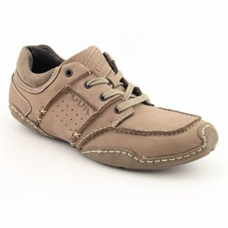 FCUK French Connection Mens Twist Beige Shoes (Size 10)