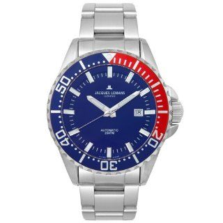Jacques Lemans Mens GU223C Geneve Collection Automatic Watch: Watches