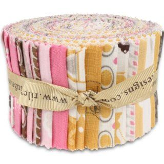 Riley Blake Daisy Cottage Rolie Polie Jelly Roll 2.5