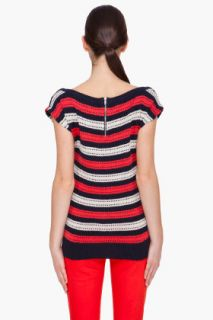 Marc By Marc Jacobs Kay Stripe Sweater T shirt for women
