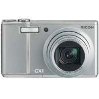 Ricoh CX1 SILVER CX1 9.29 MP Digital Point & Shoot Camera