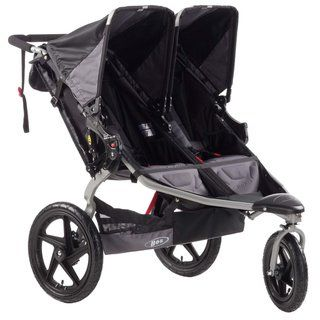 BOB Revolution SE Duallie Stroller in Black