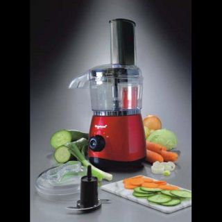Brentwood Appliances 500 ml Food Processor (red)