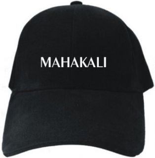 Caps Black  Mahakali Simple Embroidery  Nepal City