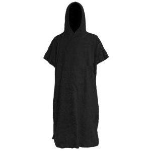 Changing Poncho Robe, Black Unisex Hooded Changing owel