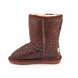 Bearpaw Girls Cimi Brown Latigo Boots Snow Shoes