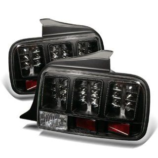 Ford Mustang 2005 2006 2007 2008 LED Tail Lights   Black