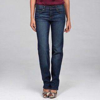 Calvin Klein Womens Dark Indigo Skinny leg Jeans