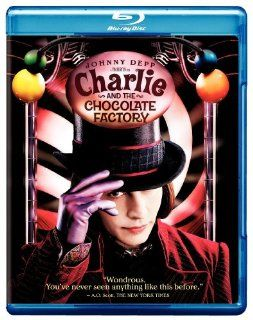 Charlie and the Chocolate Factory [Blu ray] Johnny Depp