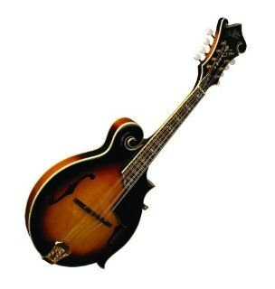 Morgan Monroe Wide Neck F Style Mandolin: Musical