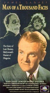 Man of a Thousand Faces [VHS] James Cagney, Dorothy