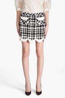 Marc Jacobs Wool blend Tweed Mini Skirt for women