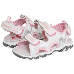 Naturino Sport 147 (Toddler/Youth) White/Pink Sandals
