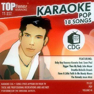 Top Tunes Karaoke CD+G [Mixed] Pop Vol. 44 TT 227 Karaoke