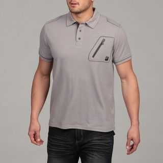 MO7 Mens Chest Pocket Polo Shirt